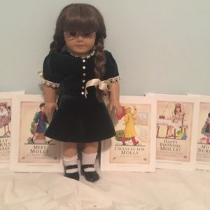 American Girl PC Molly Doll & Book Set